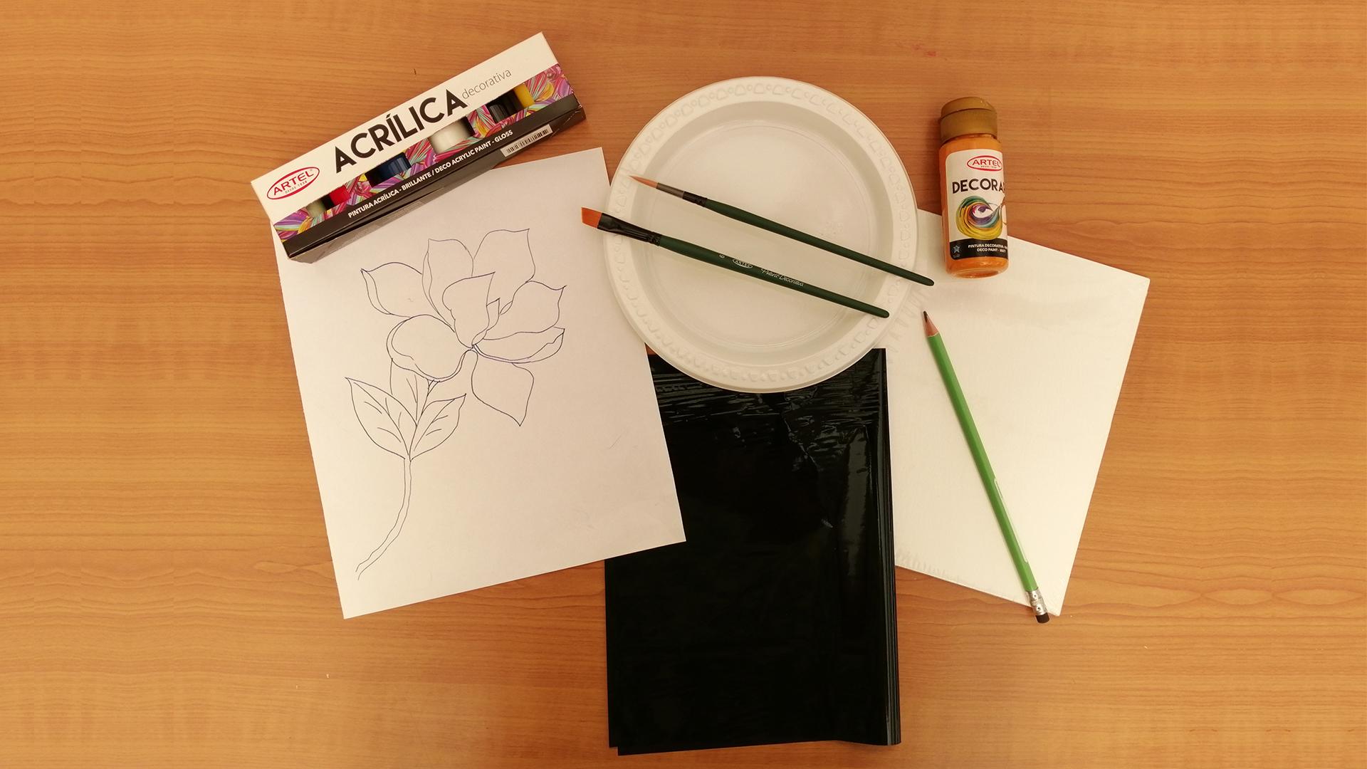 Kit Pintura Acrílica Decorativa Magnolia